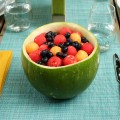 Feel what you eat bowl of fruit