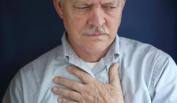 stress and chest pain with stress-related chest pain