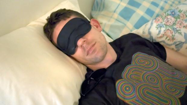 Beat sleep problems man sleeping